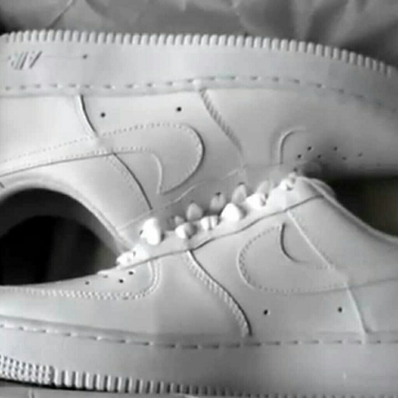 Low Top All White Forces fc6371ec0